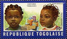 [Airmail - Togolese Hairstyles, Typ QK]