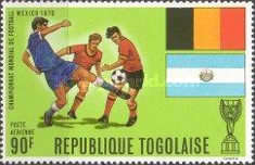 [Airmail - Football World Cup - Mexico, Typ QY]