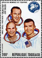 [Airmail - Space Flight - Apollo 11, 12 and 13, Typ RM]
