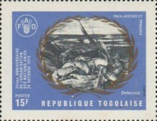 [The 25th Anniversary of the United Nations, type RZ]