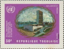 [The 25th Anniversary of the United Nations, type SB]