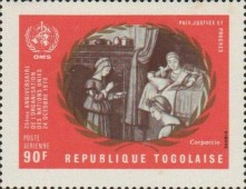 [Airmail - The 25th Anniversary of the United Nations, type SE]