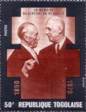 [Charles de Gaulle Commemoration, 1890-1970, type SS]