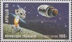 [Airmail - Manned Lunar Landing of Apollo 14, type SY1]