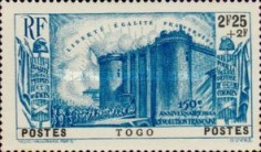 [The 150th Anniversary of French Revolution, type U4]