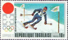 [Winter Olympic Games - Sapporo 1972, Japan, type UA]