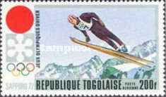 [Airmail - Winter Olympic Games - Sapporo 1972, Japan, type UE]