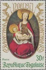 [Christmas - Madonna and Child, type UO]