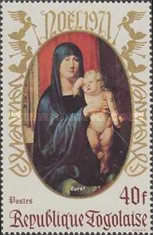 [Christmas - Madonna and Child, type UP]