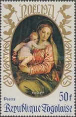 [Christmas - Madonna and Child, type UQ]