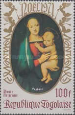 [Airmail - Christmas - Madonna and Child, type US]