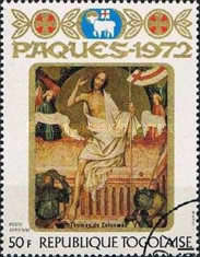 [Airmail - Easter - Religious Paintings, type UY]