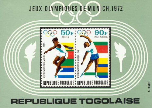 [Airmail - Olympic Games - Munich, Germany, type VN2]
