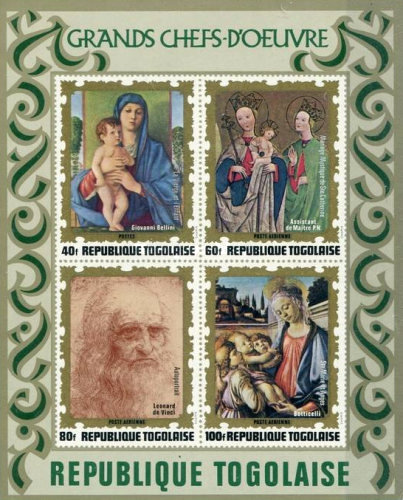 [Airmail - Paintings of Italian Masters, type WD1]