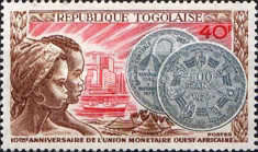 [The 10th Anniversary of West African Monetary Union, type WE]