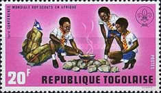 [The 1st World Congress of Scouts in Africa, type XD]