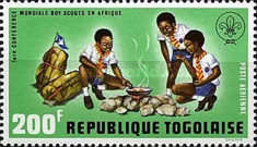 [Airmail - The 1st World Congress of Scouts in Africa, type XD1]