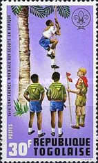 [The 1st World Congress of Scouts in Africa, type XE]
