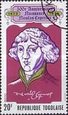 [The 500th Anniversary of the Birth of Nicolaus Copernicus, 1473-1543, type XH]