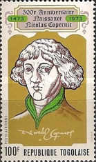 [Airmail - The 500th Anniversary of the Birth of Nicolaus Copernicus, 1473-1543, type XH1]