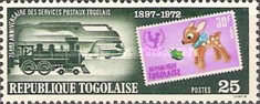 [The 75th Anniversary of Stamps of Togo, 1972, type XT]