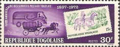 [The 75th Anniversary of Stamps of Togo, 1972, type XU]