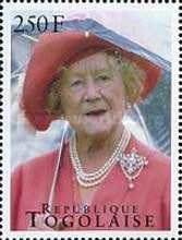 [The 95th Anniversary of the Birth of Queen Elizabeth the Queen Mother, 1900-2002, type XXH]