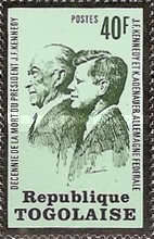 [The 10th Anniversary of the Death of John F. Kennedy, 1917-1963, type XZ]