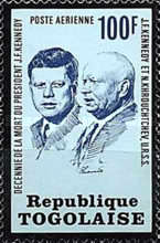 [Airmail - The 10th Anniversary of the Death of John F. Kennedy, 1917-1963, type YB]
