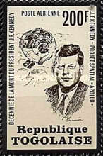 [Airmail - The 10th Anniversary of the Death of John F. Kennedy, 1917-1963, type YC]