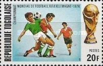 [Football World Cup - West Germany, type YL]