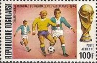 [Airmail - Football World Cup - West Germany, type YP]
