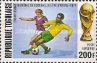 [Airmail - Football World Cup - West Germany, type YQ]