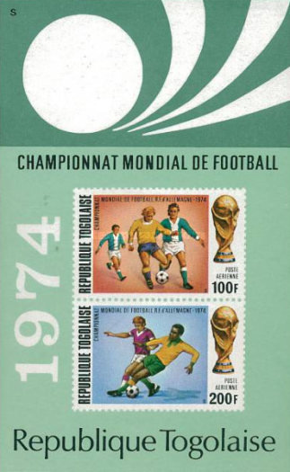 [Airmail - Football World Cup - West Germany, type YQ1]