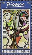 [The 1st Anniversary of the Death of Spanish Painter Pablo Picasso, 1881-1973, type YT]