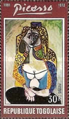 [The 1st Anniversary of the Death of Spanish Painter Pablo Picasso, 1881-1973, type YU]