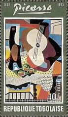 [The 1st Anniversary of the Death of Spanish Painter Pablo Picasso, 1881-1973, type YV]