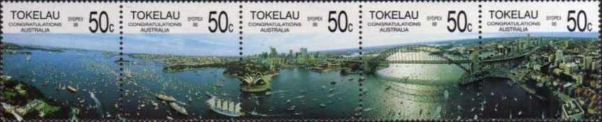 [The 200th Anniversary of Colonization of Australia and International Stamp Exhibition