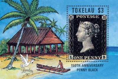 [The 150th Anniversary of Penny Black and International Stamp Exhibition