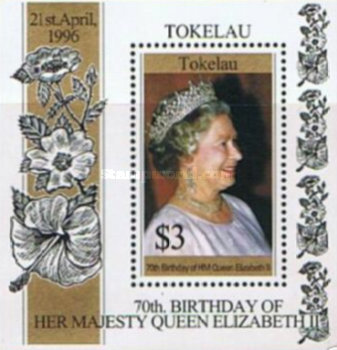 [The 70th Anniversary of the Birth of Queen Elizabeth II, type ]