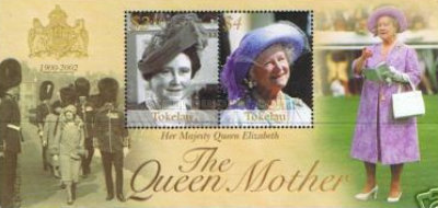 [Queen Elizabeth the Queen Mother Commemoration, 1900-2002, Typ ]