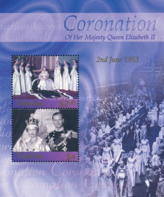 [The 50th Anniversary of Coronation of Queen Elizabeth II, type ]