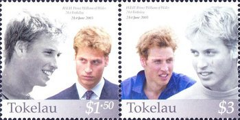 [The 21st Anniversary of the Birth of Prince William, type ]