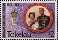 [The 40th Anniversary of Coronation of Queen Elizabeth II, Typ GN]