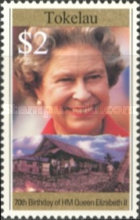 [The 70th Anniversary of the Birth of Queen Elizabeth II, type HY]