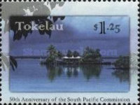 [The 50th Anniversary of South Pacific Commission, Typ IR]