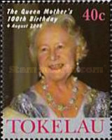 [The 100th Anniversary of the Birth of Queen Elizabeth the Queen Mother, 1900-2002, Typ KI]