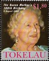 [The 100th Anniversary of the Birth of Queen Elizabeth the Queen Mother, 1900-2002, Typ KK]