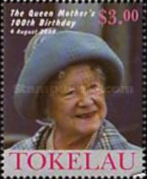 [The 100th Anniversary of the Birth of Queen Elizabeth the Queen Mother, 1900-2002, Typ KL]