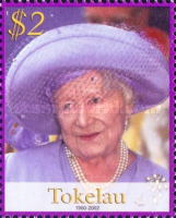 [Queen Elizabeth the Queen Mother Commemoration, 1900-2002, Typ LP]